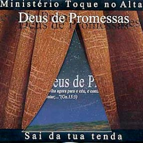 deus de promessas toque no altar